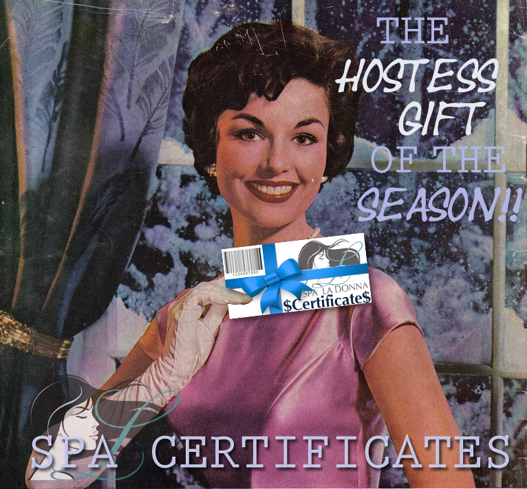hostess gifts, Spa Certificates